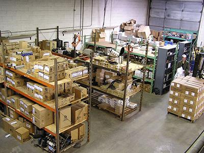 KW Sharp warehouse
